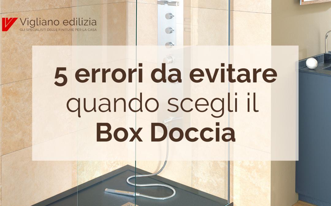 Box Doccia – 5 errori da evitare quando scegli